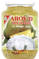 COCONUT GELE WITH MANGO