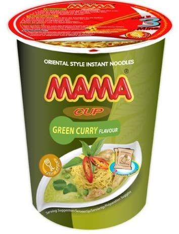 INSTANT CHICKEN GREEN CURRY CUP (72 CUP)