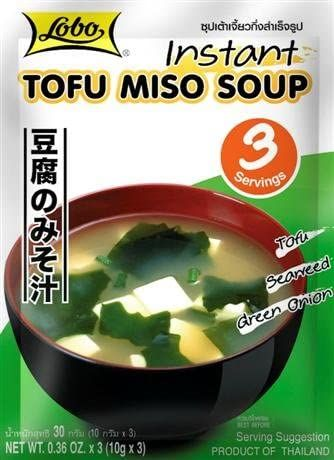 MISO INSTANT TOFU SOUP