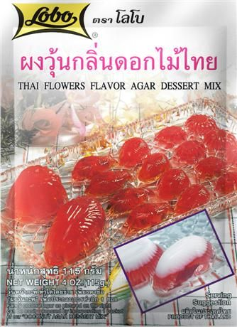 FLOWER AGAR DESSERT MIX