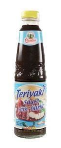 TERIYAKI SAUCE WITH GARLIC