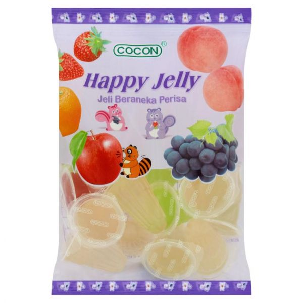 HAPPY JELLY (MIXED) (16 CUP*19 G)