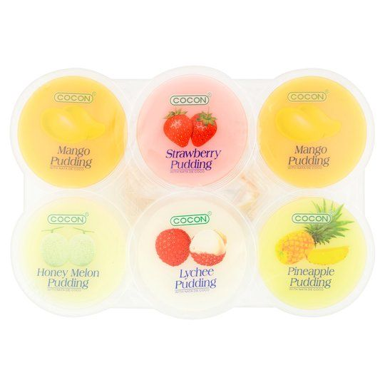 PUDDING MIX 6 FLAVOUR (6 CUP*80 G)