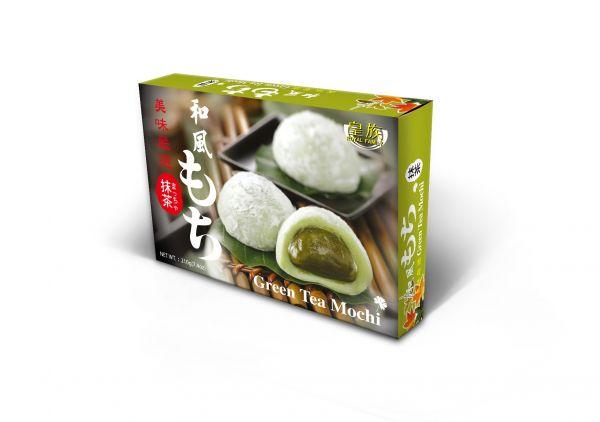 MOCHI GREEN TEA (6 PCS X 35 GR)