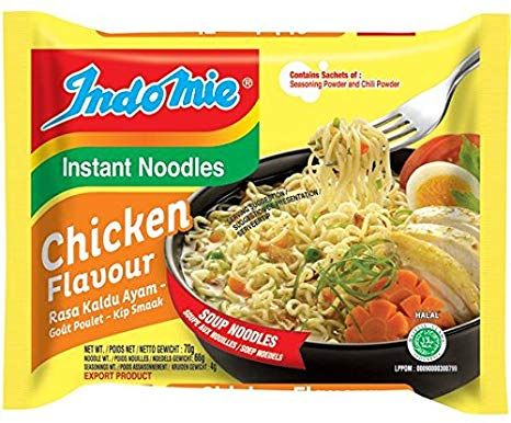 INSTANT CHICKEN NOODLE