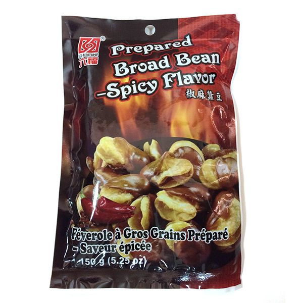 PREPARED BROAD BEAN SPICY FLAVOR