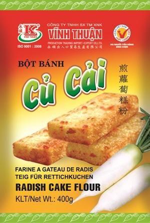 BOT BANH CU CAI RADISH CAKE FLOUR