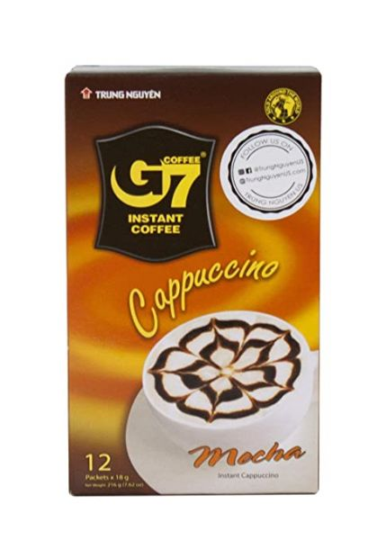 COFFEE G7 3 IN 1 CAPPUCHINO MOCHA